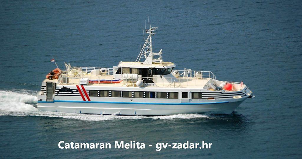 Catamaran Fast Ferry 'Melita' by  G & V Line Iadera